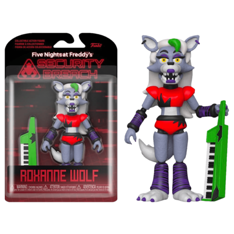 Funko Action Figures: FNAF Security Breach – Roxanne Wolf