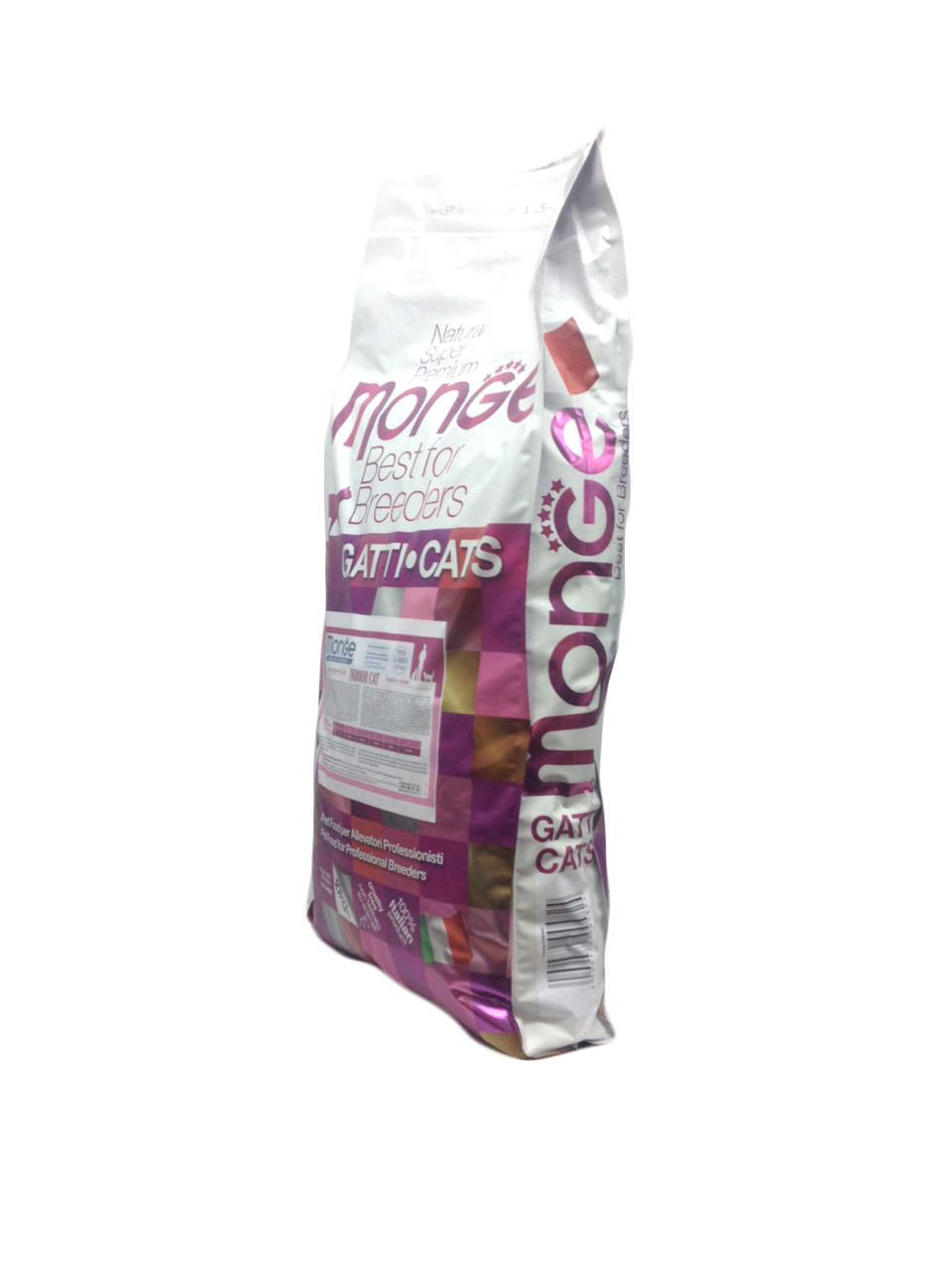 Купить Monge Cat Indoor сухой  корм для домашних кошек