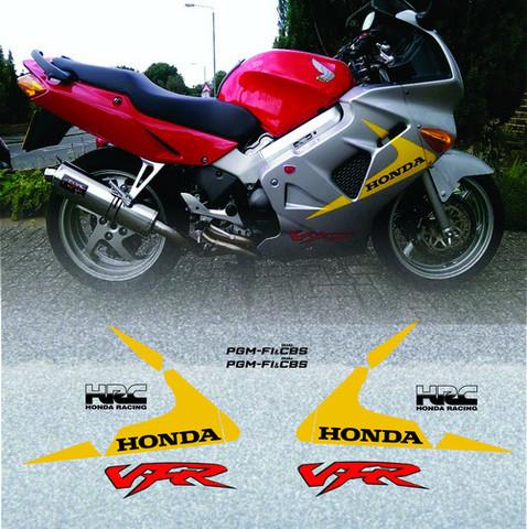 Набор виниловых наклеек на мотоцикл HONDA VFR800, 1999