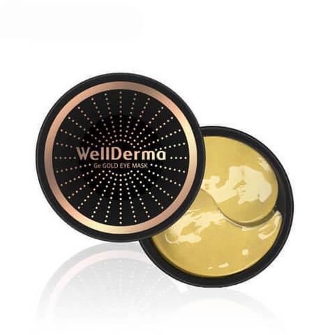 Wellderma Омолаживающие патчи с германием и золотом Ge Gold Eye Mask