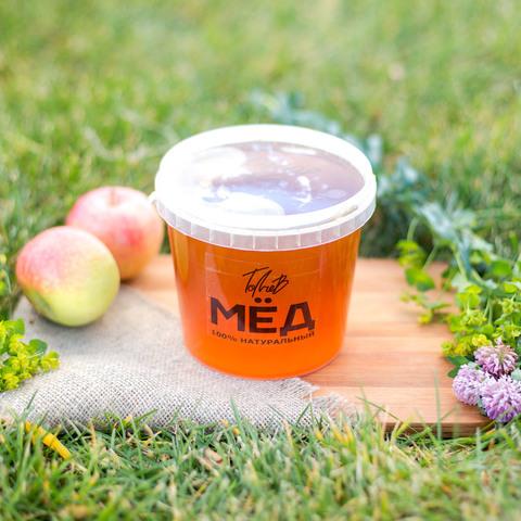 Предзаказ Мёд цветочный начала лета 2021 Казнаковка 0,9 литра (1,35кг)