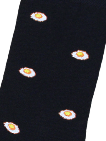 Носки Яйцо черные