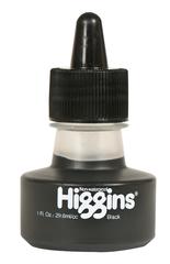 Пигментные чернила HIGGINS BLACK Pigment-Based 1 OZ, 29,6 мл