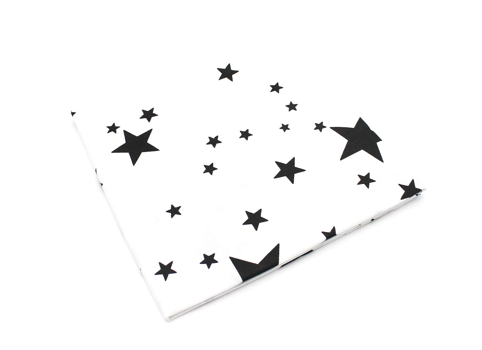 Звезды черные на белом