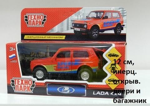 Машина мет. LADA4X4-S Лада 4х4 Спорт (Технопарк)