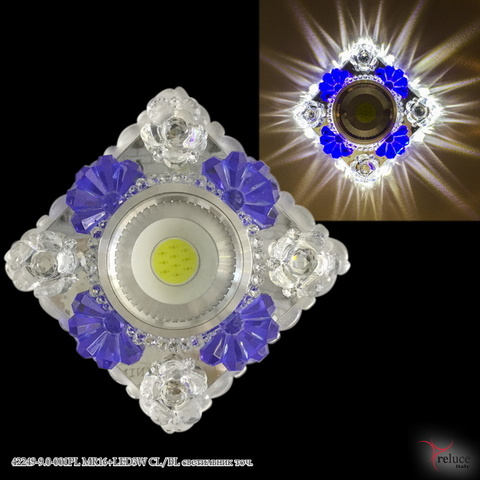 42249-9.0-001PL MR16+LED3W CL/BL светильник точ.