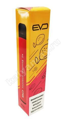 Одноразовый электронный кальян EVO POD, 2% nic - Розовый лимонад
