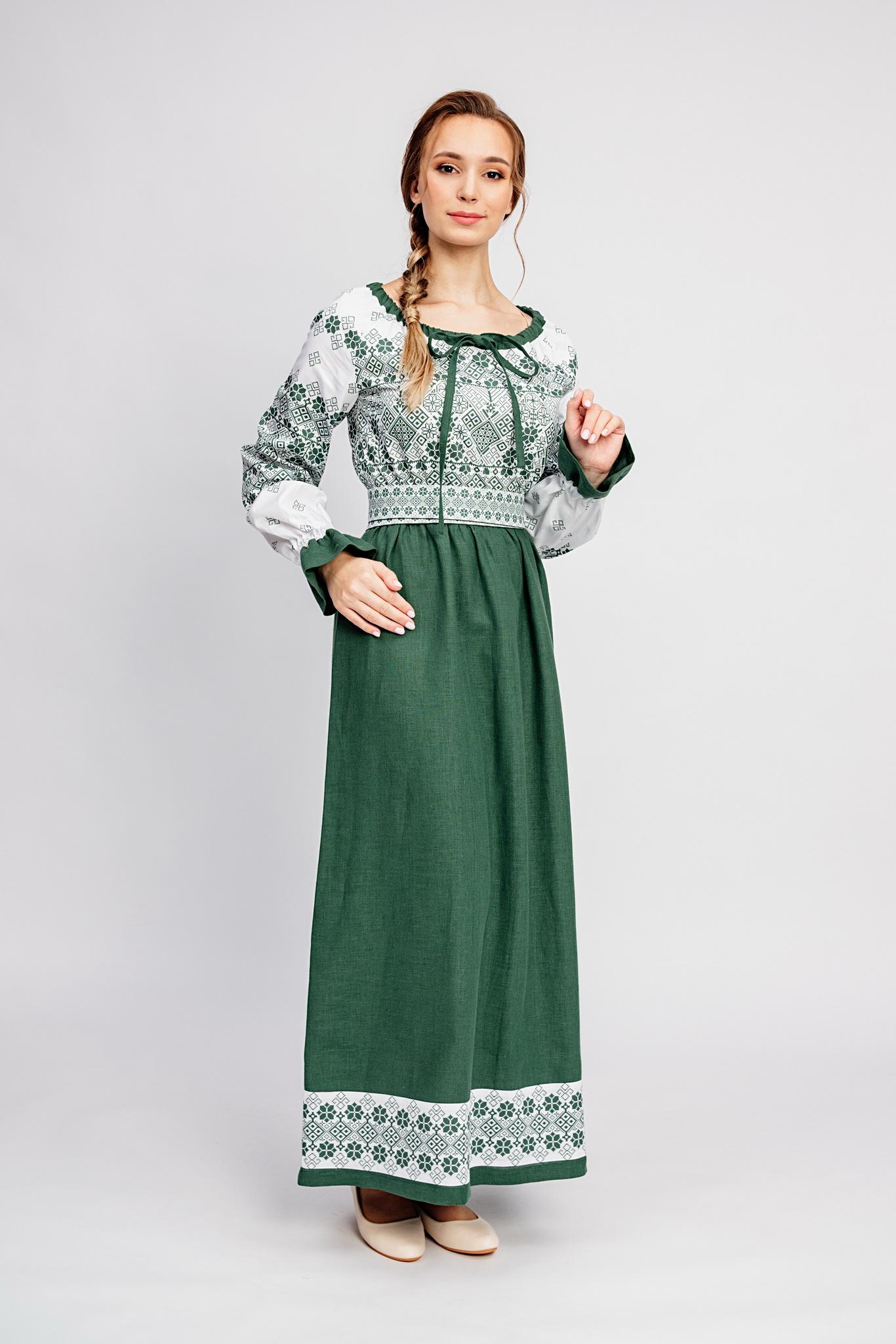 Современное народное платье купить