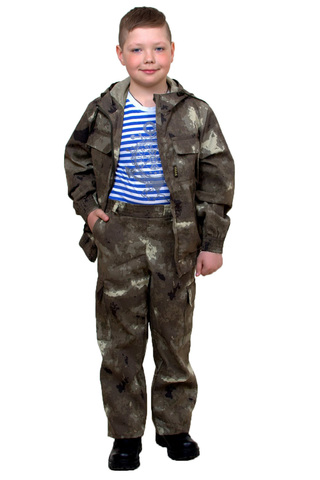 Костюм Юниор детский летний (ткань Твил S21015)