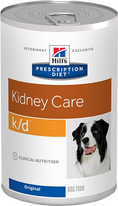 Hill's Ветеринарный корм для собак с заболеваниями почек Hill`s Prescription Diet k/d, с курицей кд.png