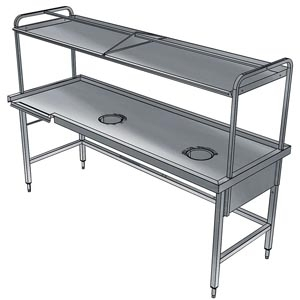 фото 1 Стол для сортировки посуды Electrolux BHST2708R 865340 на profcook.ru