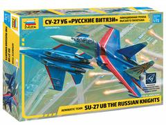 Самолет «Су-27УБ» «Русские витязи»