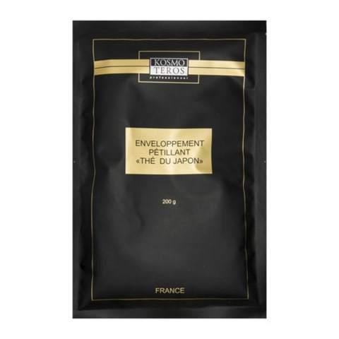 Пенящееся обертывание с японским чаем, Enveloppement petillant the du japon, Kosmoteros (Космотерос), 200 гр
