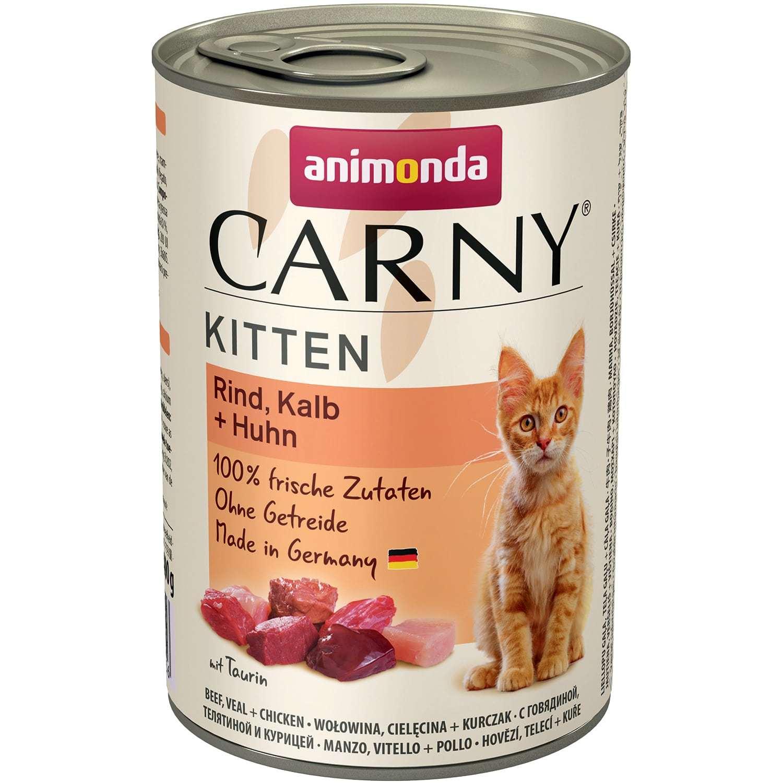 Купить Animonda CARNY Kitten - Beef, Veal, Chicken