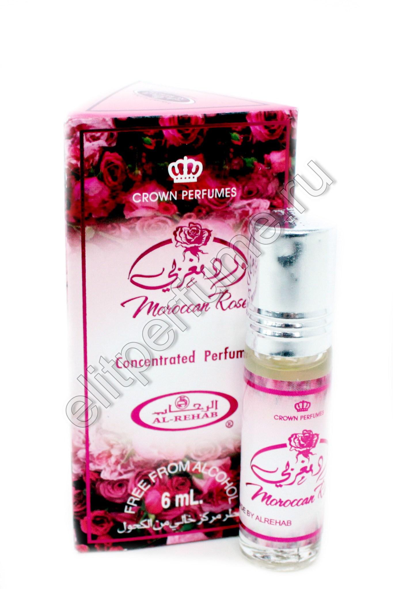 Moroccan Rose Марокканская Роза 6 мл арабские масляные духи от Аль Рехаб Al Rehab