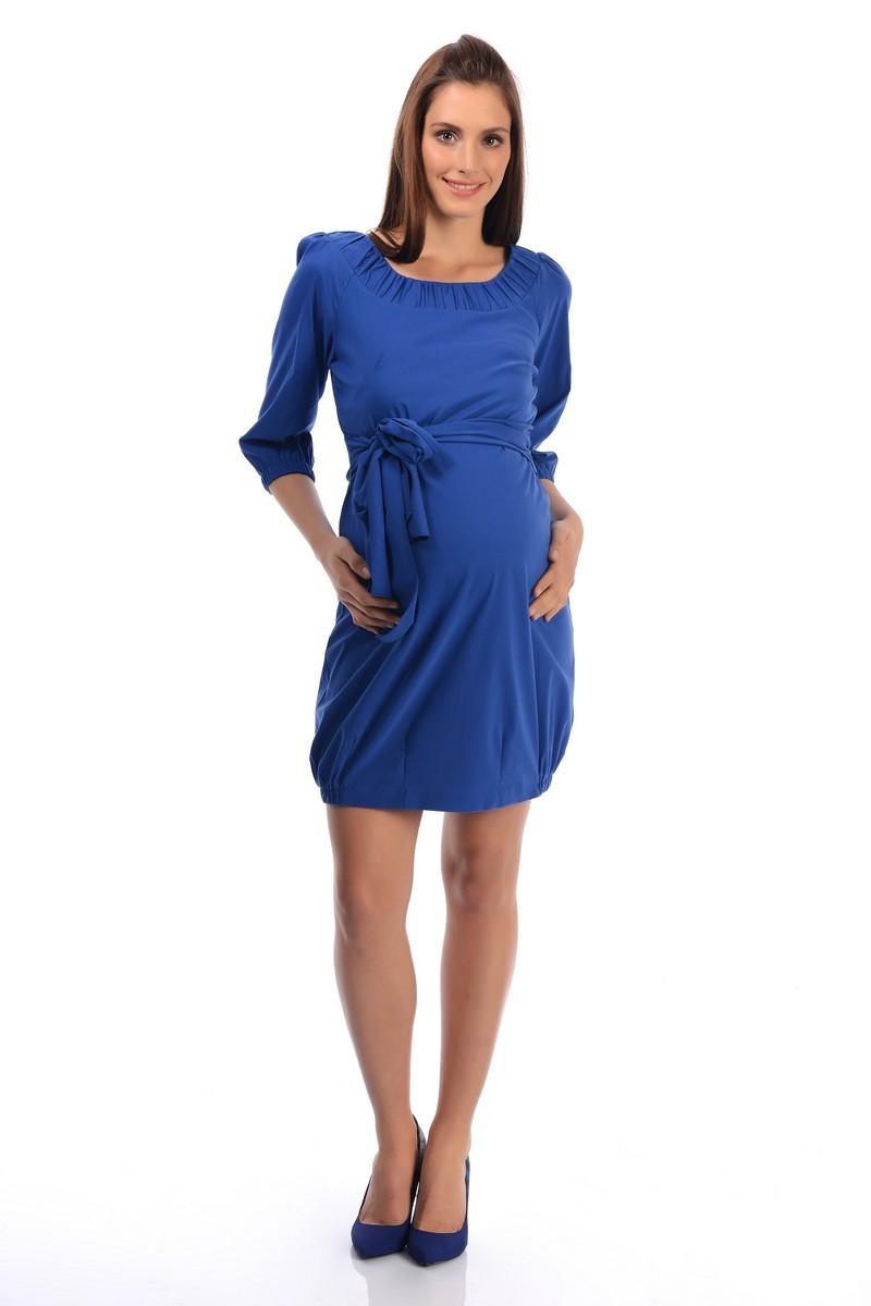 Туника для беременных 05819 синий