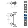 Смеситель термостатический для душа с комплектом для душа RS-CROSS 623402MO - фото №2
