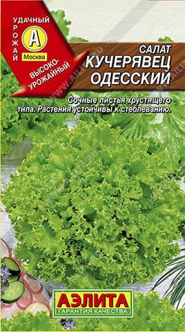 Салат Кучерявец Одесский полукочанный тип ц/п