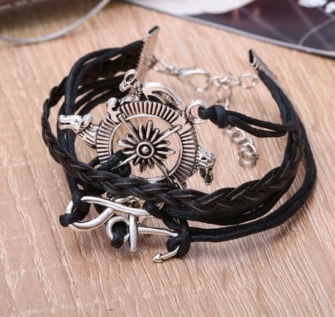 Купить браслет в морском стиле с компасом - Магазин тельняшек.ру 8-800-700-93-18Браслет