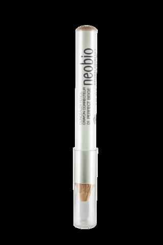 Neobio Корректирующий карандаш 01 идеально- бежевый