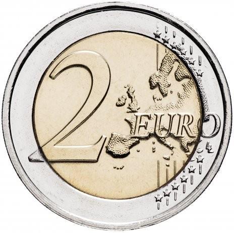 2 евро 2018 Испания - 50 лет королю Филиппу VI