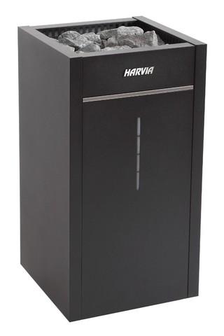 Harvia Электрическая печь Virta Combi HL70S Black HL700400S 6,8 кВт (с парогенератором, ручной залив воды, без пульта)