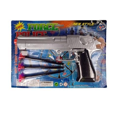 Пистолет с присосками 1кор*36бл*8шт