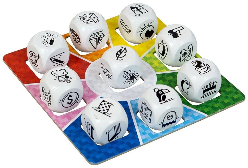 Настольная игра Одним Словом на кубиках