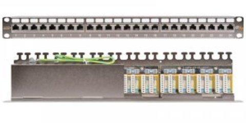 Патч-панель NIKOMAX NMC-RP24SA2-1U-MT