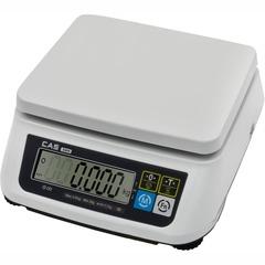 Купить Весы фасовочные настольные CAS SWN-06, LCD, АКБ, RS232/USB (опция), 6кг, 1/2гр, 226x187, с поверкой, без стойки. Быстрая доставка