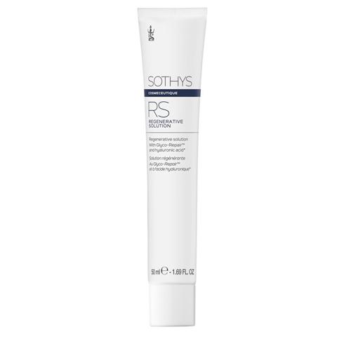Sothys Cosmeceutique Blue Line: Регенерирующая формула (гель-маска) для лица (Regenerative Solution)