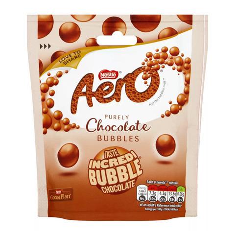 Шарики шоколадные Nestle Aero Bubbles Chocolate с молочным шоколадом 102 гр