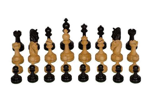 Шахматные фигуры - эбонит