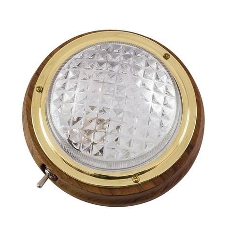 Светильник интерьерный накладной, Ø152 мм, Тик
