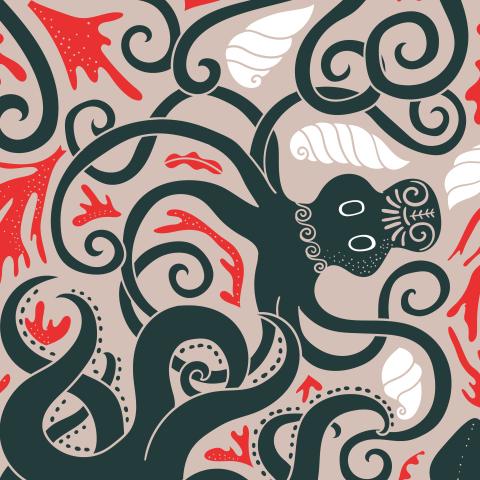 Минойские древние осьминоги