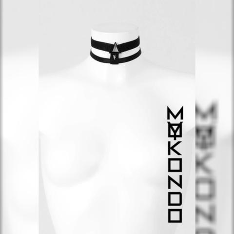 MyMokondo Чокер Энжи (Черный, S)
