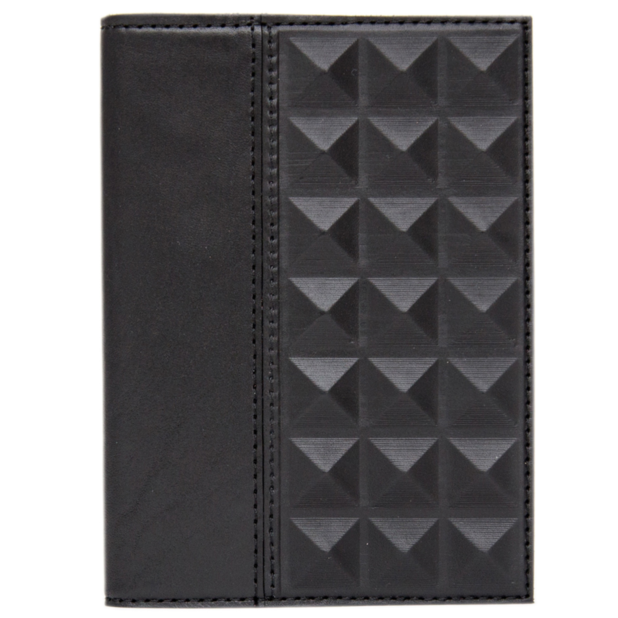 Обложка на паспорт «Геометрия». Цвет черный