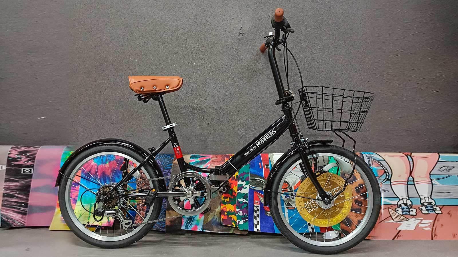 велосипед складной MyPallas M204 черный