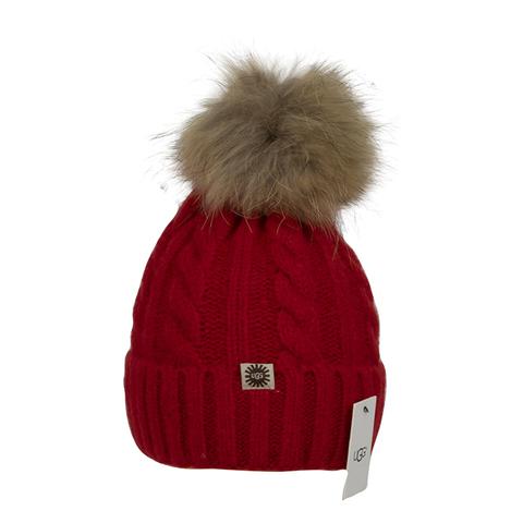 UGG HAT RED