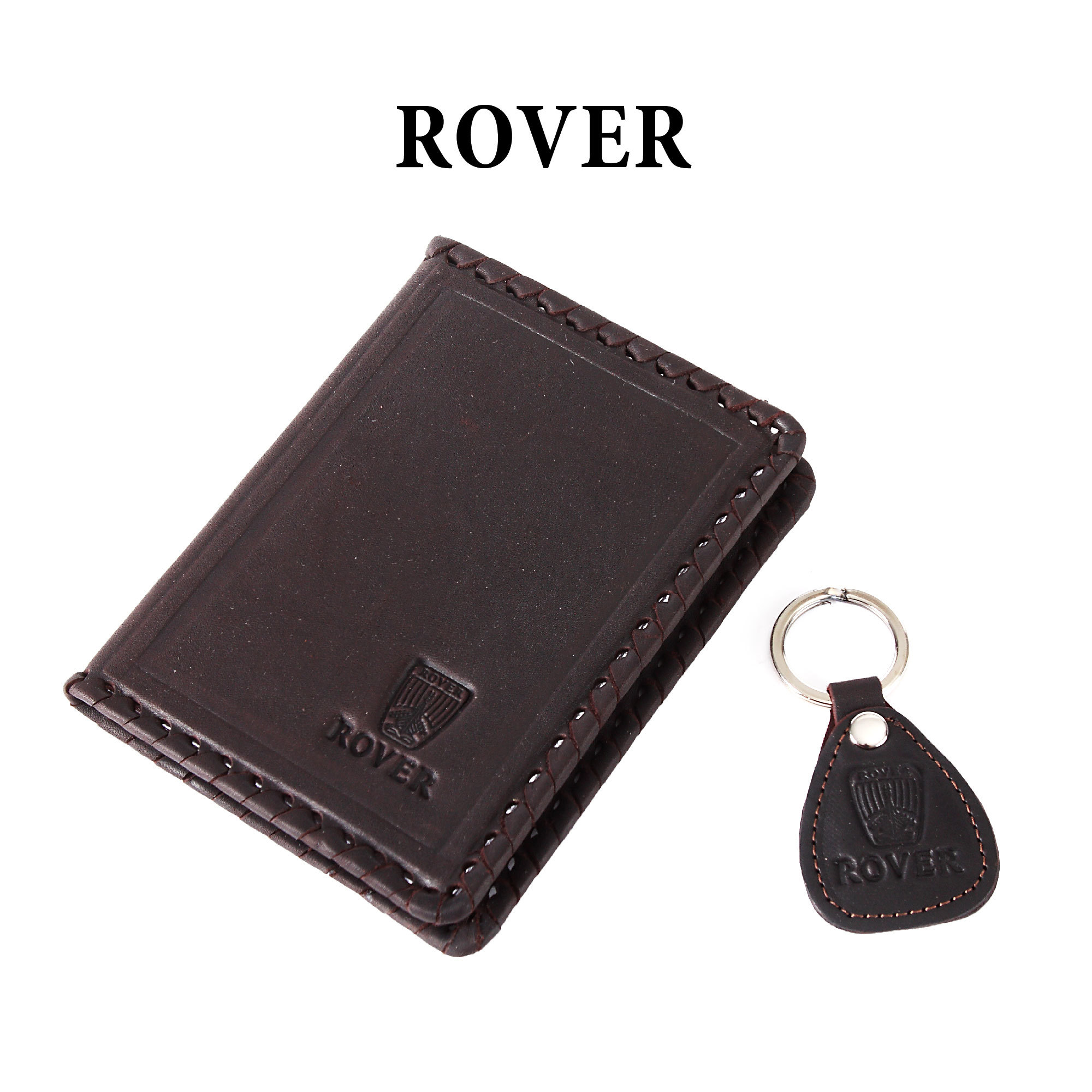 Обложка для водительского удостоверения с брелком «ROVER»