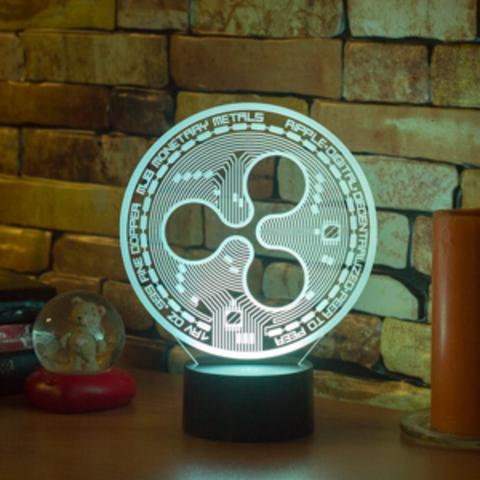 3D лампа Ripple (Рипл)