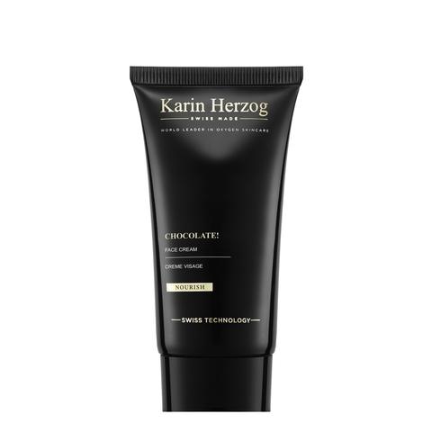 Karin Herzog Увлажняющий, антиоксидантный крем для лица с ароматом Швейцарского шоколада Chocolate! Face Cream