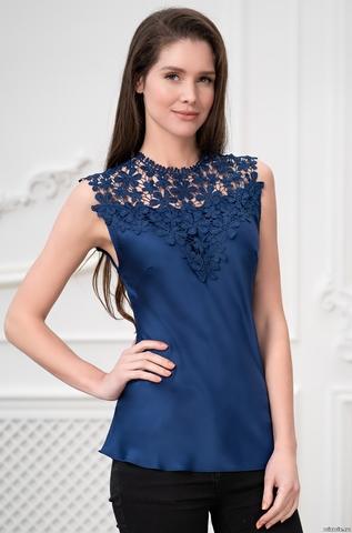 Блуза Топ женский Mia-Amore Milan Милан 8325 синий