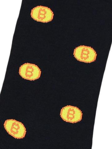 Носки Биткоин черные