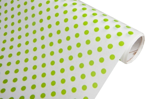 Бумага белая крафт 50гр/м2, 70см x 10м, Бисер, салатовый