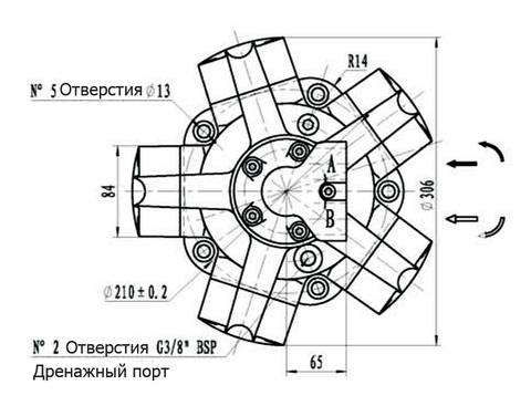 Гидромотор IPM3-175