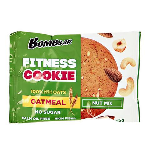 Bombbar Печенье овсяное Ореховый микс 40 гр