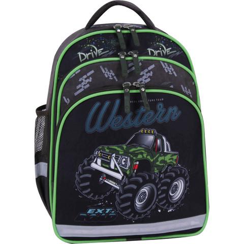 Рюкзак школьный Bagland Mouse хаки 664 (00513702)