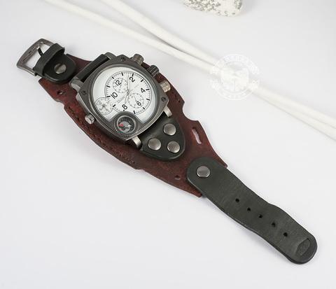 WLS141 Оригинальный ремень браслет для часов из кожи разного цвета