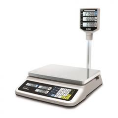 Весы торговые CAS PR-15P LCD со стойкой